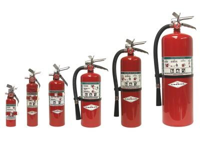 Halon 1211 Extinguishers