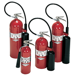 Carbon Dioxide Stored Pressure Extinguishers